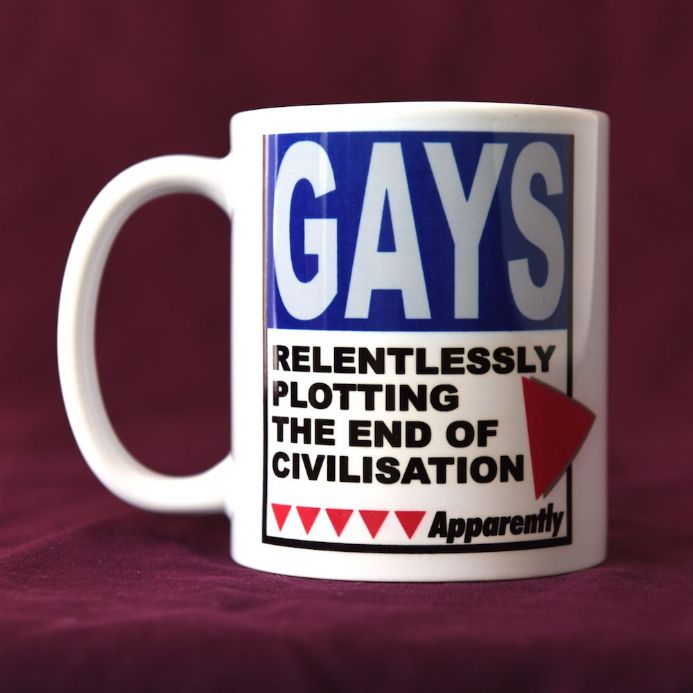 Gays, Relentlessly Plotting - Mug